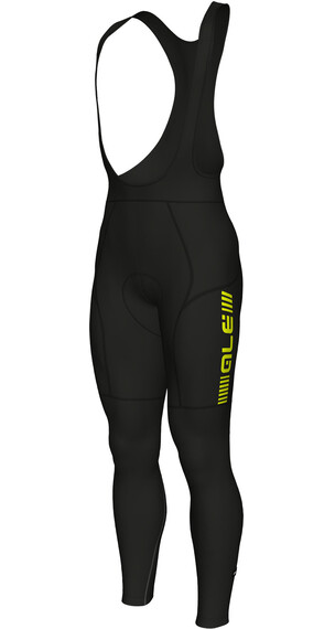 Alé Cycling PRR 2.0 Percorso - Culotte largo con tirantes Hombre - amarillo/negro